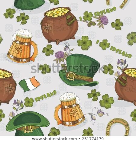 Giorno festa di san patrizio verde pittura - St patricks giorno fogli di colore giorno ...