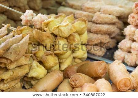 гриль тайский морепродуктов печи лодка Сток-фото © Mariusz_Prusaczyk