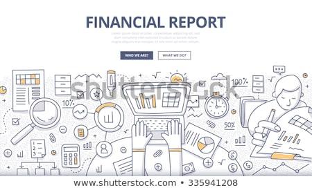 icônes · Finance · financière · vecteur · eps - photo stock © davidarts