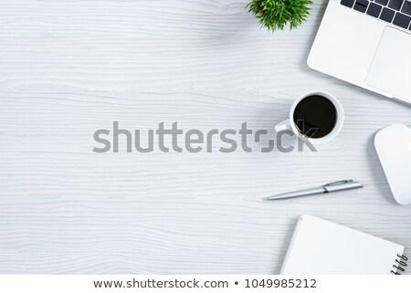 metal · tabela · vidro · topo · velas · livro - foto stock © digifoodstock