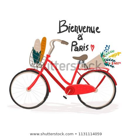 carriage ride in Paris Stock photo © adrenalina