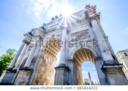 Victory Arch in Munich  Stock photo © vichie81