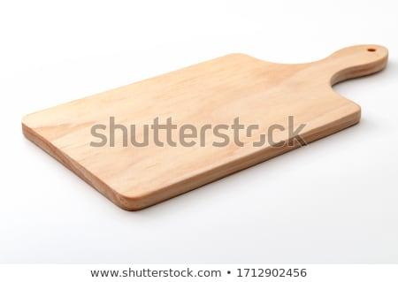 Konyhai felszerelés szerszám fehér étel háttér fém Stock fotó © bluering