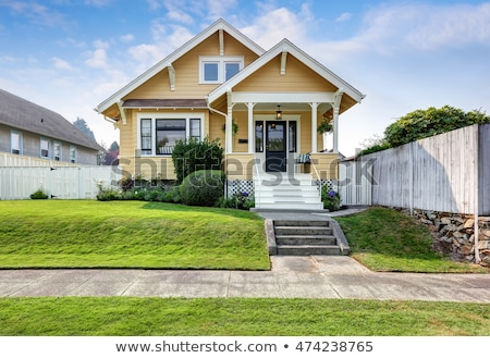 A big yellow house Stock photo © bluering