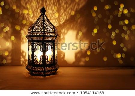 Ramadan lantern light lamp Stock photo © zurijeta