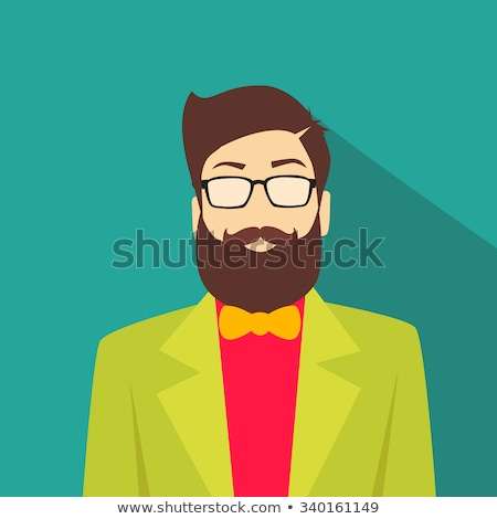 geek guy avatar portrait stock photo © vector1st