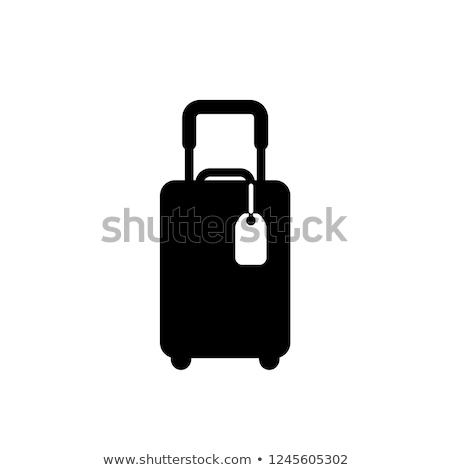 Boutons vacances sac illustration blanche fond Photo stock © bluering