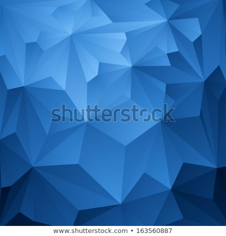 Azul abstrato caleidoscópio textura padrão matemática Foto stock © homydesign