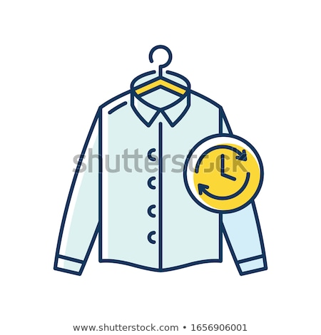 laundry service vector illustration stock photo © m_pavlov