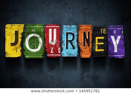 Journey concept design Stock photo © sdCrea