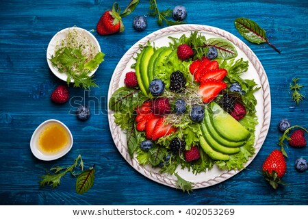 Plate of Mustard Fruits Stock photo © monkey_business