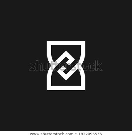 Letra h dedo ortografia alfabeto americano linguagem gestual Foto stock © Givaga