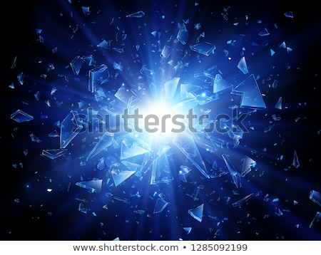 background with energetic light beams stock photo © derocz