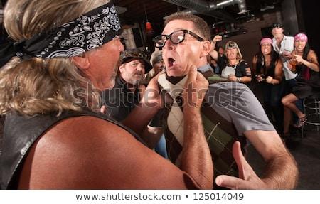 shock in tavern stock photo © fisher