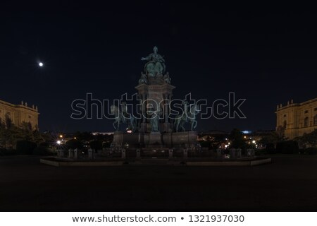 Museums Quartier in Vienna at night Stock photo © tommyandone
