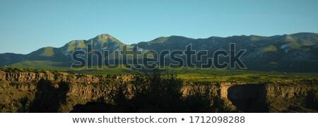 Rio rivière New Mexico à l'extérieur USA grand angle Photo stock © Qingwa