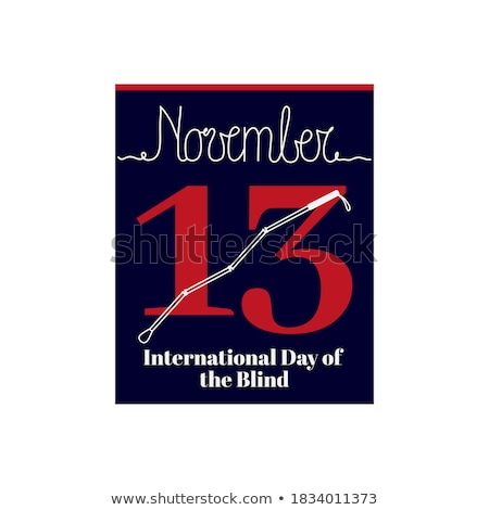 13 november International Day of the Blind Stock photo © Olena