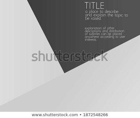 Seo tecnología libro título negocios borroso Foto stock © tashatuvango