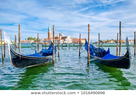 gondolas near san marco stock photo © givaga