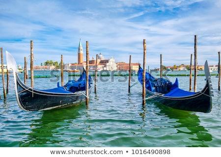 Ada Venedik İtalya manzara deniz kilise Stok fotoğraf © Givaga