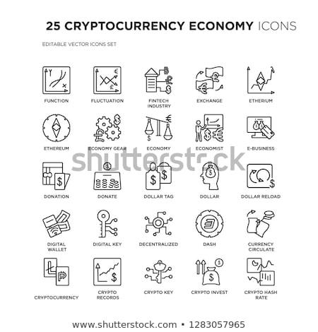 Dollar uitwisseling business icon teken web Stockfoto © popaukropa