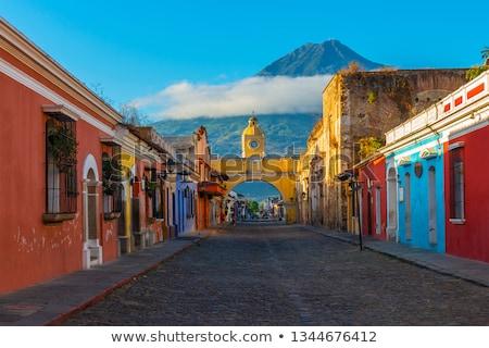 Santa Catalina Arch Antigua Guatemala Stock photo © THP
