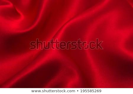 Rosso seta onde completo schermo texture Foto d'archivio © zven0