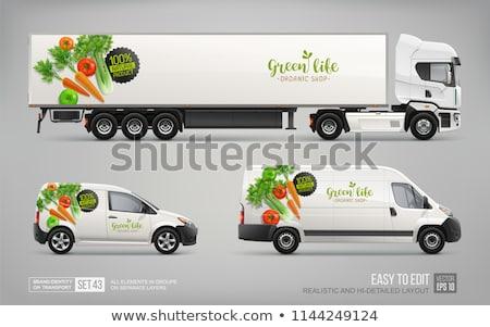 Photo stock: Alimentaire · produits · isolé · blanche · vecteur