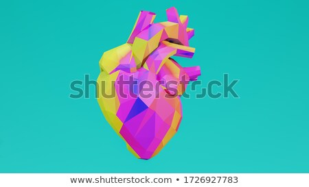 human heart concept stock photo © lightsource