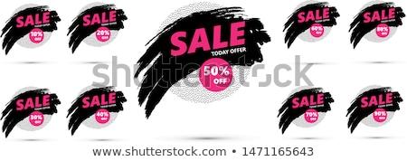 Salvar para cima por cento black friday preço Foto stock © robuart