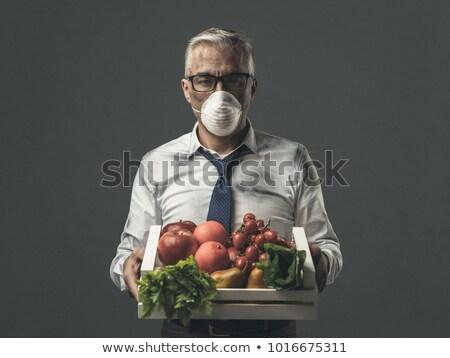 загрязнения продовольствие токсичный химического люди здоровья Сток-фото © Lightsource