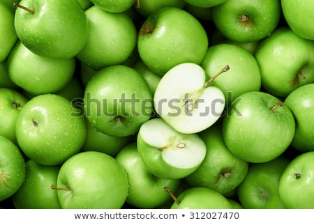 Vert pommes réaliste pomme restaurant rouge Photo stock © ConceptCafe