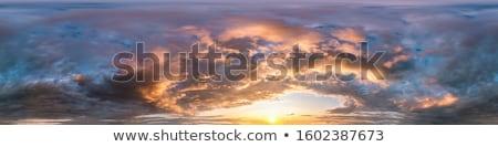 sundown sky with clouds seamless Stock photo © romvo