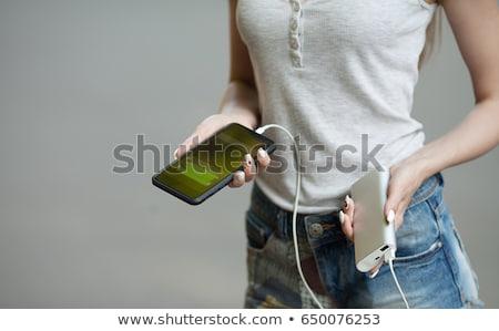 bateria · 3D · prestados · ilustração - foto stock © andreypopov