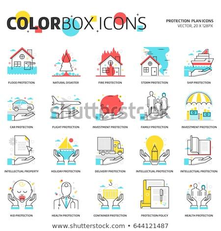 Technologie juridische diensten kleur Stockfoto © Decorwithme