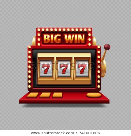 Gelukkig mensen gokken winnend Stockfoto © RAStudio