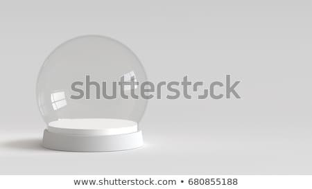 empty snow ball 3d stock photo © djmilic