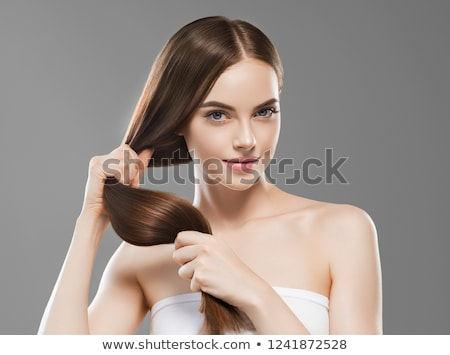 Strong Hair Stock photo © Lightsource
