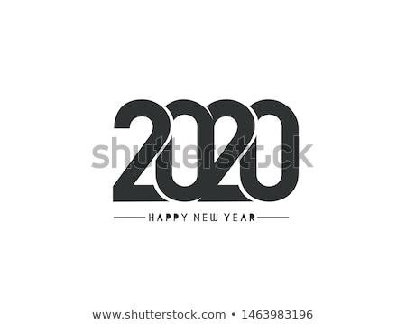 Celebração ano novo ocasião evento aviador modelo Foto stock © SArts