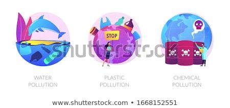 World contamination vector concept metaphors Stock photo © RAStudio