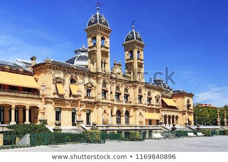 Stadhuis Spanje stad raad casino la Stockfoto © borisb17