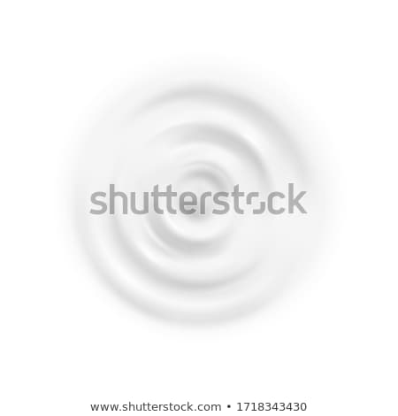 Ripple Capillary Liquid Waves Flat Lay Vector Stock photo © pikepicture