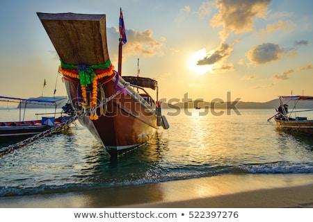 долго · хвост · лодка · Таиланд - Сток-фото © pancaketom