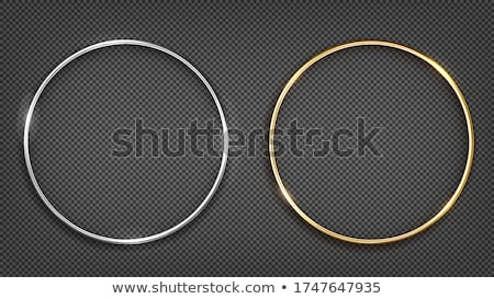 wedding gold and silver rings stock photo © sahua