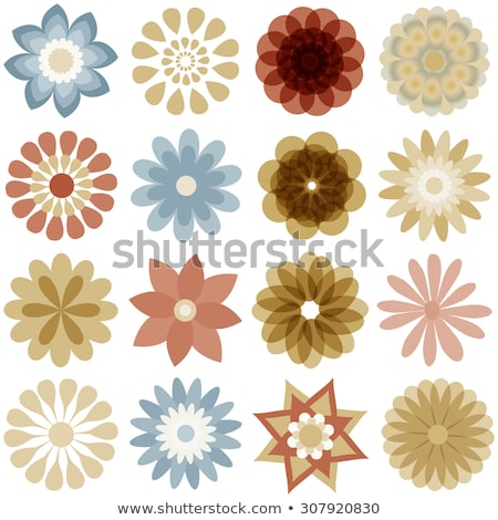 Various colorful abstract icons, Set 21 stock photo © cidepix