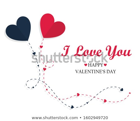 sweet valentine card stock photo © sahua