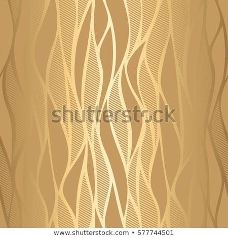 Seamless golden waves Stock photo © sahua