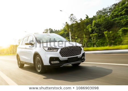 suv Stock photo © ivonnewierink