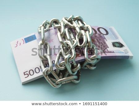 Stock photo: Euro Chains