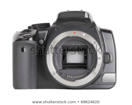 Professional DSLR camera body without lenses isolated Stock photo © Arsgera
